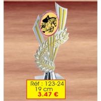 Trophée : Réf. 123-24  - 19cm