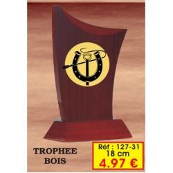 Trophée BOIS : Réf. 127.31- 18cm
