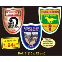 Plaque PVC Réf. 5