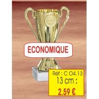 Trophée : Réf. CO4 - 13 cm