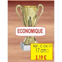 Coupe trophées de 17 cm CM