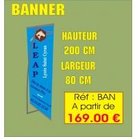Réf. BAN - BANNER - 200 cm