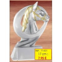 Trophée RESINE 17 CM : Réf. 71431