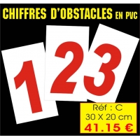 Réf. AC - Chiffres obstacles