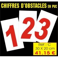 Réf. AC - Chiffres obstacles