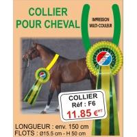 COLLIER - F6 (pour cheval)