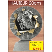 Trophée : Réf. FG 1250 - 20 cm