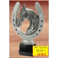 Trophée RESINE 18 cm - rèf. FG1636