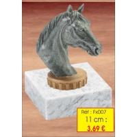 Trophée resine marbre fx 0007 11 cm