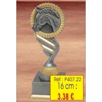 Trophée RESINE 16 CM : Réf. P407.22