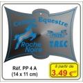 Plaque prestige alu cuivré/argent - Réf. PP4A
