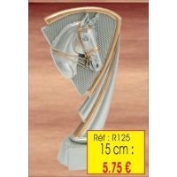 Trophée RESINE 15 CM : Réf. R125