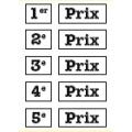 Etiquettes de classement autocollantes - LA PLANCHE